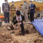 Bupati Ciamis Letakan Batu Pertama Renovasi Mesjid Asy-Syifa