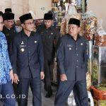 Tinjauan Wakil Gubernur Jawa Barat ke Pasar Manis, Islamic Centre dan Stadion Atletik Kabupaten Ciamis
