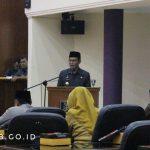 Penjelasan Bupati Pada Rapat Paripurna DPRD Dalam Acara Penyampaian Raperda Kabupaten Ciamis Tentang Pertanggungjawaban Pelaksanaan APBD Tahun Anggaran 2018