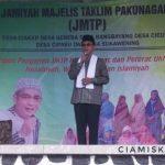 Bupati Ciamis Beserta Istri Hadiri Pengajian Jamiyah Majelis Taklim Pakunagara