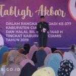Tabligh Akbar Dalam Rangka Hari Jadi ke-377 dan Halal Bil Halal Idul Fitri 1440 H Tingkat Kabupaten Ciamis