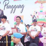 Bupati dan Wakil hadiri Funbike, Panggung hiburan dan Gebyar Perdamaian dalam rangka HUT Bhayangkara ke-73