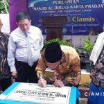 Bupati Resmikan Masjid Al-Ikhlas Karta Pradja di Perumahan Bumi Pakarangan Cijeungjing