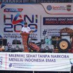 """BNNK Ciamis Gelar Peringatan HANI 2019 """"Generasi Milenial Sehat Tanpa Narkoba Menuju Indonesia Emas"""""""