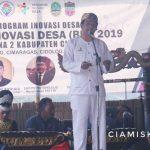 Wakil Bupati Buka Kegiatan Bursa Inovasi Desa (BID) Zona 2 Kabupaten Ciamis