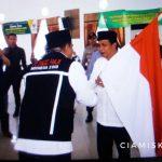 Wakil Bupati Melepas Keberangkatan Calon Jemaah Haji Kabupaten Ciamis Kloter 61 JKS