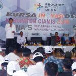 Bupati Buka Bursa Inovasi Desa Zona 5 Tahun 2019