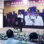 Penutupan Musrenbang RPJMD Kabupaten Ciamis Tahun 2019 - 2024