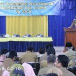 Rapat Koordinasi Pengawasan Tingkat Kabupaten Ciamis di Wilayah Eks Kewedanaan Banjarsari