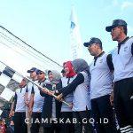 Puluhan Ribu Masyarakat Antusias Ikuti Jalan Sehat Dalam Rangka Hari Jadi Kabupaten Ciamis ke-377
