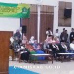 Bupati dan Wakil Bupati Memberangkatkan Jemaah Calon Haji Asal Kabupaten Ciamis Kloter 53 JKS