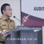 Bupati Buka Kegiatan Diklat Audit Kinerja Lingkup Inspektorat Kabupaten Ciamis