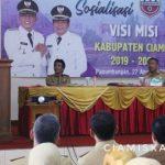Bupati Hadiri Silaturahmi Warga Dinas Pendidikan Wilayah Kecamatan Panumbangan dan Sekitarnya