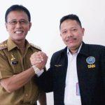 Bupati Ciamis Terima Kunjungan Silaturahmi  Pejabat Baru Kepala BNNK Ciamis