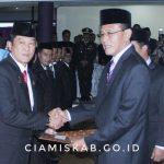 Rapat Paripurna DPRD Dalam Rangka Pengucapan Sumpah Janji Anggota DPRD Kabupaten Ciamis Masa Jabatan 2019-2024