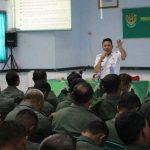 Dandim 0613 Ciamis Serukan Anggotanya Menjadi Pelopor  Dalam Penanggulangan Narkoba