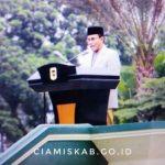 Pelaksanaan Sholat Idul Adha Tingkat Kabupaten Ciamis