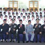 Bupati Kukuhkan Paskibraka Kabupaten Ciamis Tahun 2019