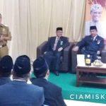 Bupati Hadiri HUT ke-74 Mahkamah Agung RI Tingkat Kabupaten Ciamis