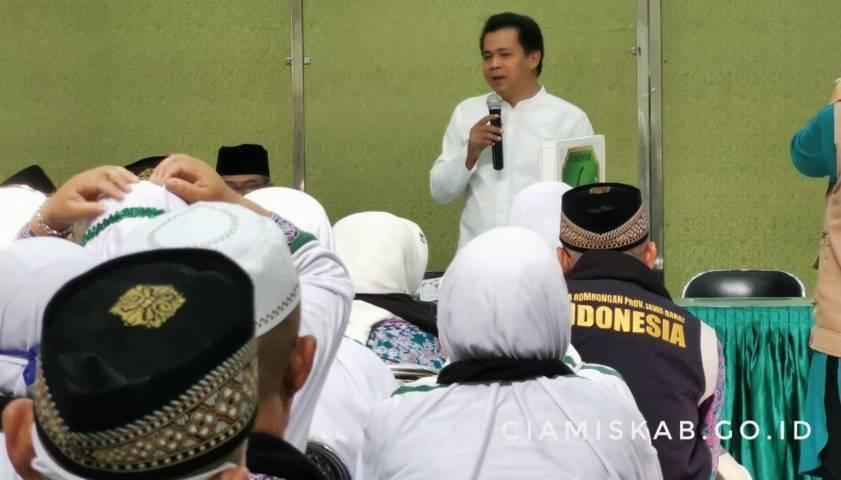 Wabup Jemput Jemaah Haji Kloter Pertama Asal Ciamis