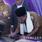 Bupati Ciamis Resmikan Masjid Al-Falah Kecamatan Rancah