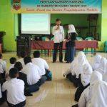 Pencegahan Dini  Penyalahgunaan Narkoba Kepada Pelajar SMP Negeri 1 Sukamantri