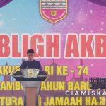 Tabligh Akbar Dalam Rangka Menyambut Tahun Baru Islam 1441 H, Tasyakur HUT RI Ke-74 dan Silaturahmi Haji Kabupaten Ciamis Tahun 2019