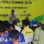 Bupati Ciamis Buka Kota Galuh Liga Voli Ciamis 2019