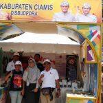 Peringati Hari Sumpah Pemuda, Disbudpora Ciamis Gelar Produk Unggulan di Ajang Kabbiza Fest Jabar