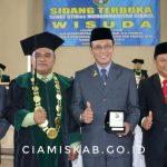 Bupati Ciamis Hadiri Wisuda STIKes Muhammadiyah