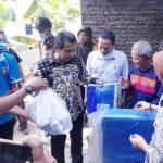 Wakil Bupati Ciamis Kunjungi Warga Lakbok Yang Derita Lumpuh dan Luka Bakar