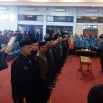 Bupati Ciamis Lantik 16 Jabatan Pimpinan Tinggi Pratama Dilingkungan Pemerintah Kabupaten Ciamis Tahun 2019