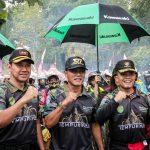 Bupati Ciamis Hadiri Trail Adventure di Situs Ciung Wanara Karangkamulyan