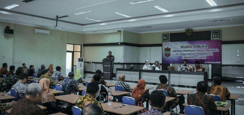 Bupati Ciamis Buka Seleksi Jabatan Pimpinan Tinggi Pratama (JPTP)