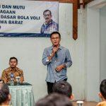 Bupati Ciamis  Buka Pelatihan Pelatih Voli tingkat Provinsi Jabar