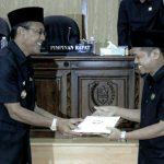 Bupati Ciamis Sampaikan Penjelasan Tiga Raperda Ciamis Tahun 2019