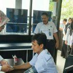 Antisipasi Pandemi Covid-19, BNNK Ciamis Periksa Kesehatan Pegawai