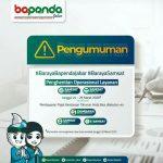 Pandemi Covid-19, Layanan Samsat Dihentikan Sementara, Kepala P3D Ciamis himbau WP gunakan e-Samsat