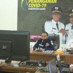 Bupati Ciamis Sosialisasikan AKB/New Normal kepada para Camat se-Kabupaten Ciamis