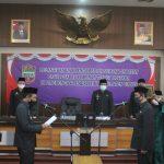 Bupati Ciamis Lantik Dadang  Darmawan sebagai Kepala BPBD