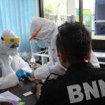Deteksi Dini Covid-19, BNNK Ciamis Rapid Tes Pegawainya