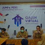 Gelorakan Potensi dan Budaya Galuh, Kabupaten Ciamis Launching Website Galuh Virtual