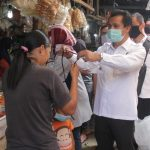 Sosialisasikan Adaptasi Kebiasaan Baru, Wabup Ciamis Blusukan ke Pasar Tradisional