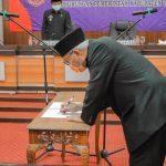 Bupati Ciamis Lantik Drs. H. Asep Sudarman M.Pd sebagai Staff Ahli Bidang Perekonomian dan Pembangunan