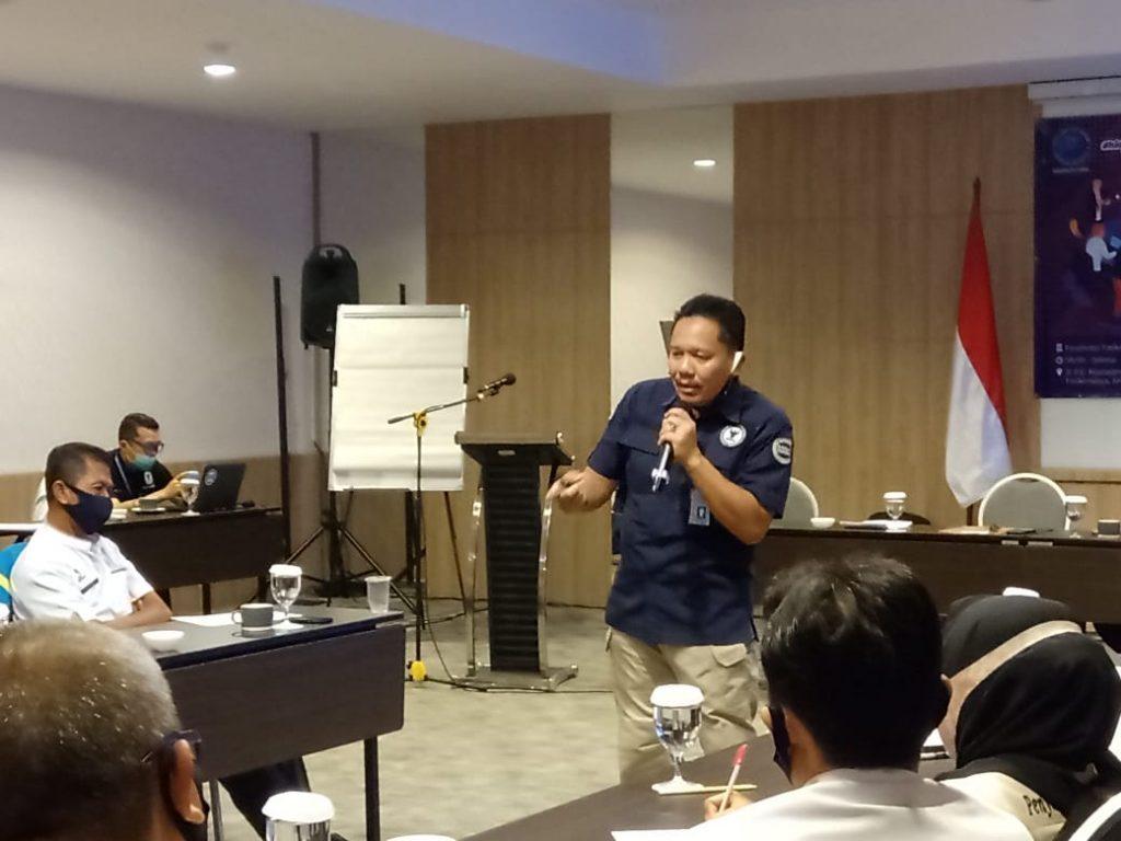 Puluhan Pegawai Kecamatan dan UPTD KB Ikuti Bimtek Penggiat Anti Narkoba