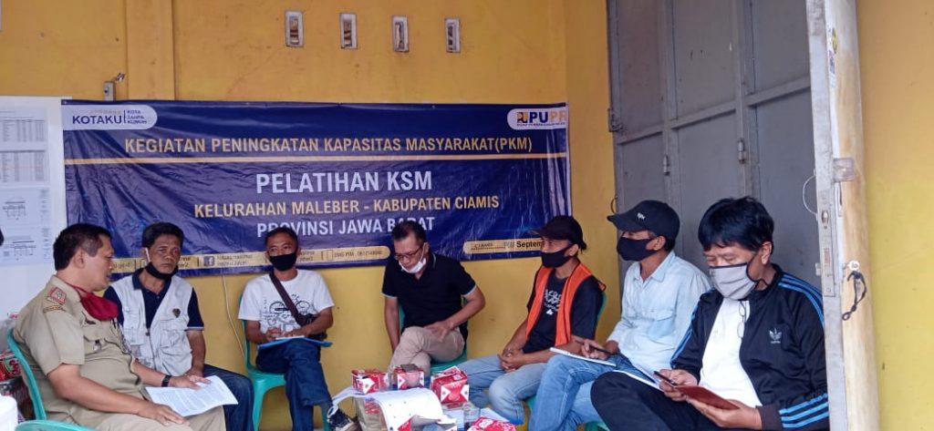 KOTAKU Ciamis Gelar Pelatihan Peningkatan Kapasitas Masyarakat (PKM) dan Pelatihan KPP
