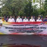 Percepat Penanggulangan Kebakaran, Pemkab Ciamis Launching 6 Mobil Damkar