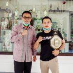 Bupati Ciamis Terima Silaturahmi Juara MMA Tingkat Nasional