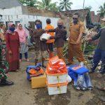 BPBD Ciamis Salurkan Bantuan Korban Kebakaran
