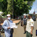Tegakan Disiplin Penggunaan Masker, Satpol PP Ciamis Gelar Operasi Yustisi